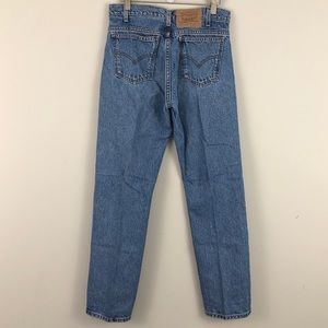 VTG Levi's 505 Orange Tab Straight Leg light wash
